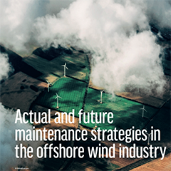 Actual and future maintenance strategies in the offshore