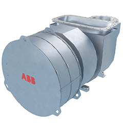 ABB introduces new compact turbocharger for low-speed marine